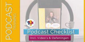 Podcast Checklist