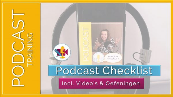 Podcast Checklist