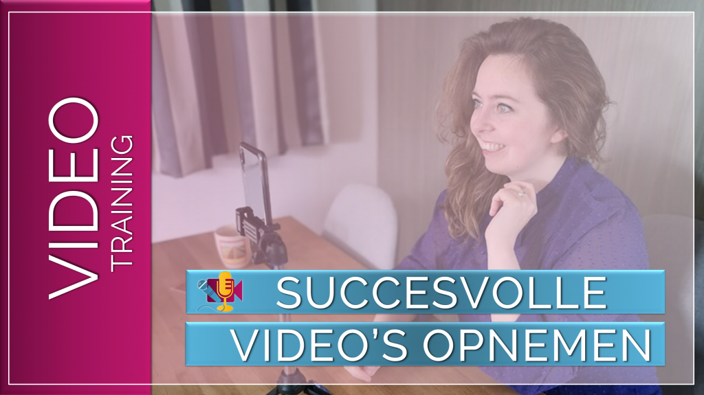 Succesvolle video's opnemen